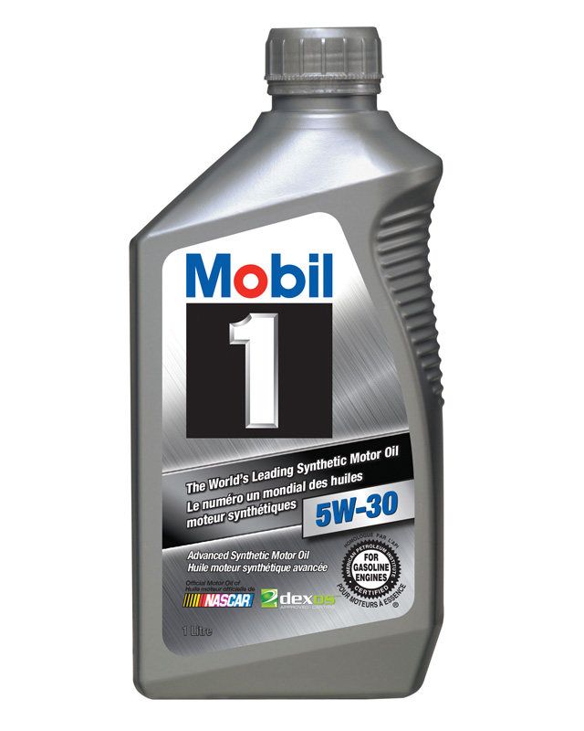 105396 5W30 MOBIL1 FULL SYNTHETIC API-SM, 1L (CANADA